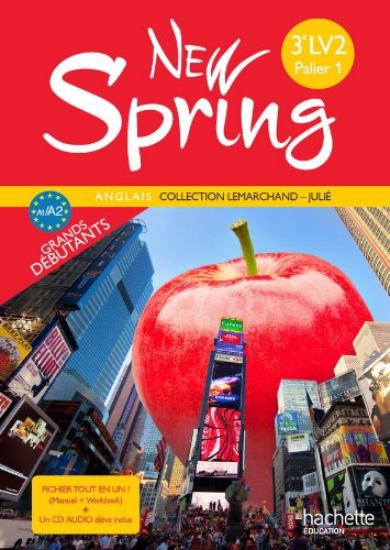 9782011255655: Anglais 3e - New spring (French Edition)