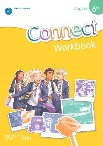 9782011255686: Anglais 6e Connect : Workbook Palier 1 année 1