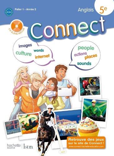 9782011255730: Connect 5e / Palier 1 anne 2 - Anglais - Livre de l'lve - Edition 2012