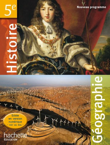 9782011256171: Histoire Geographie 5e (French Edition)
