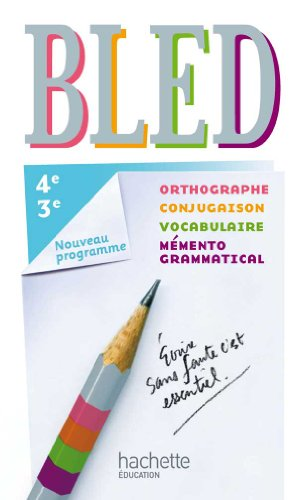 9782011256546: Bled 4e/3e (French Edition)