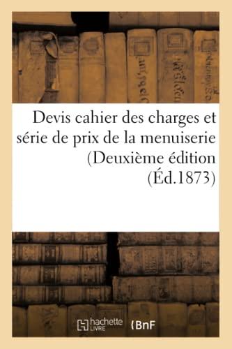 Devis Cahier Des Charges Et Serie de: Weinberger-C