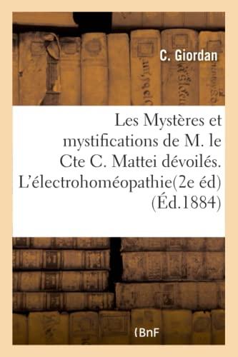 Les Mysteres Et Mystifications de M. Le: Giordan-C