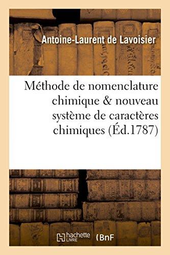 Methode de Nomenclature Chimique Proposee Par MM.: De Lavoisier-A-L
