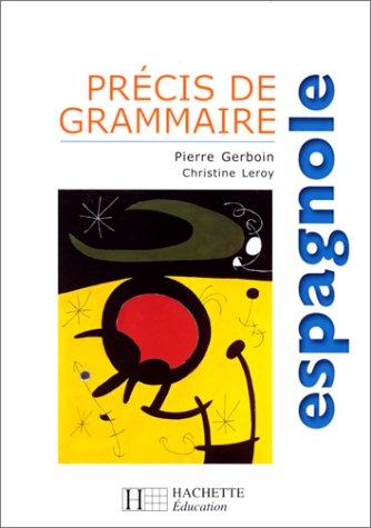 9782011351661: Précis de grammaire espagnole
