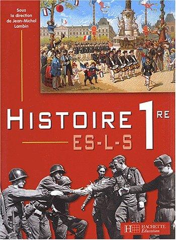 9782011353252: Histoire, 1re ES-L-S