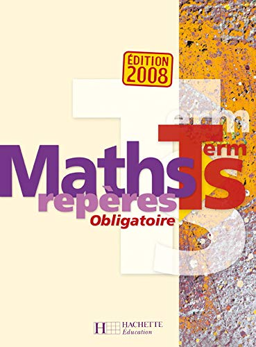 9782011355164: Maths repères Tle S (French Edition)