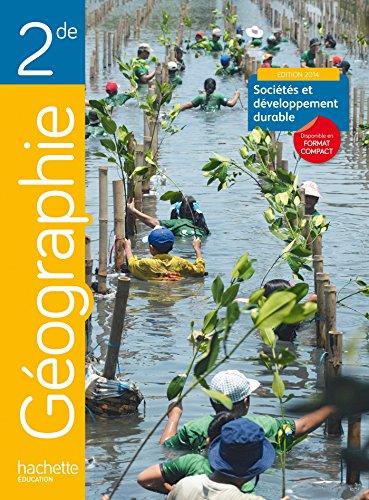 9782011356093: Géographie 2de grand format - Edition 2014
