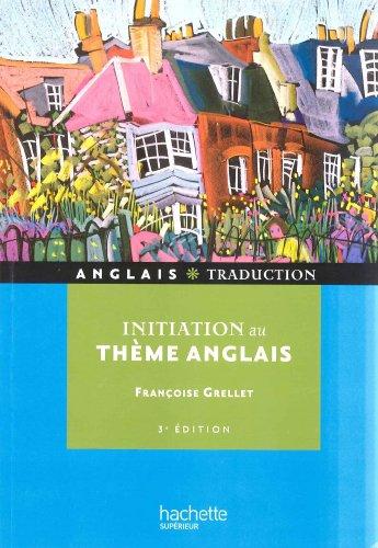 9782011400246: Initiation au thème anglais
