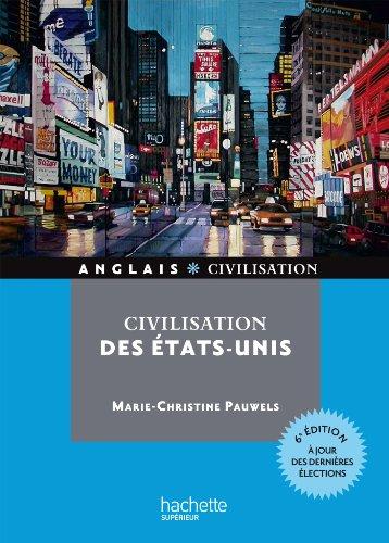 9782011400253: Civilisation des Etats-Unis