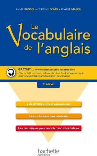 9782011400260: Le vocabulaire de l'anglais