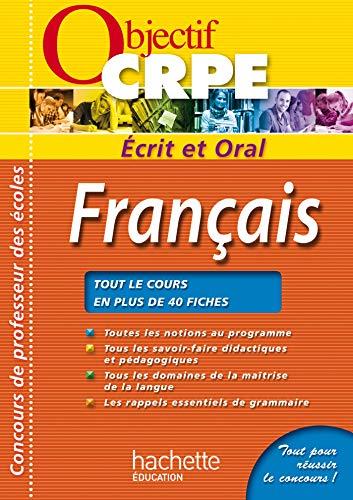 9782011400406: CRPE en fiches : Français