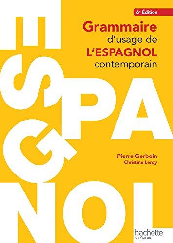 9782011403544: Grammaire d'usage de l'espagnol contemporain