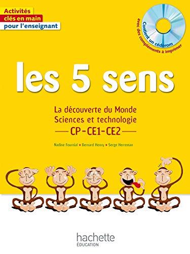 9782011404138: Les 5 sens CP CE1 CE2