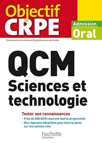 9782011404442: QCM CRPE : Sciences et technologie