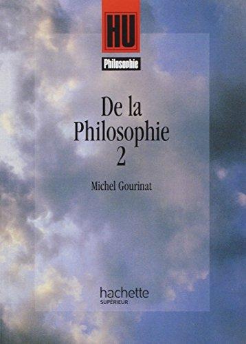 9782011449108: De la philosophie, tome 2