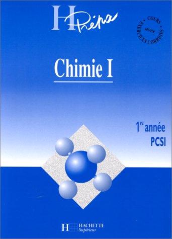 9782011450777: CHIMIE. Tome 1, 1ère année PCSI
