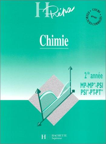 9782011451705: Chimie, 2e année MP - MP* - PSI - PSI* - PT - PT*