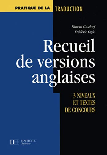 9782011451880: Recueil de versions anglaises (French Edition)