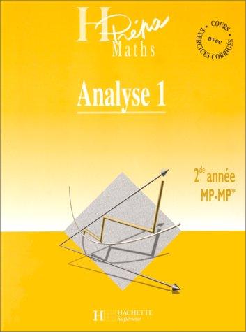 Analyse MP, deuxième année, tome 1 [Oct 01, 1999] Selon; Beck et Feuillet