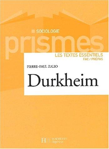 9782011454232: Durkheim