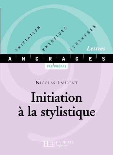 9782011454553: Initiation � la stylistique