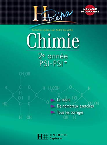 9782011456540: Chimie 2e année PSI-PSI
