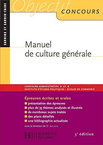 9782011458544: Manuel de culture générale (French Edition)