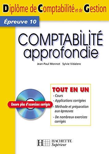 9782011458643: Comptabilité approfondie DCG10 (1Cédérom)