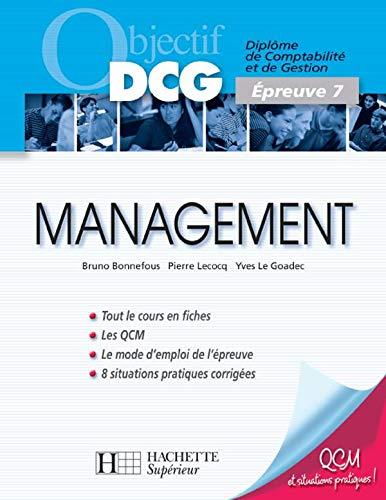 9782011459060: Management : Epreuve 7 du DCG