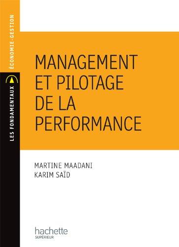 9782011460189: Management et pilotage de la performance