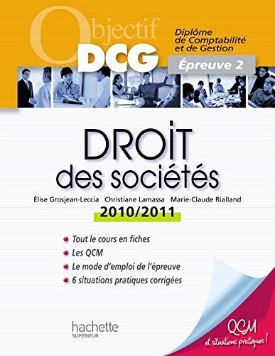 9782011460271: Droit des sociétés : Epreuve 2