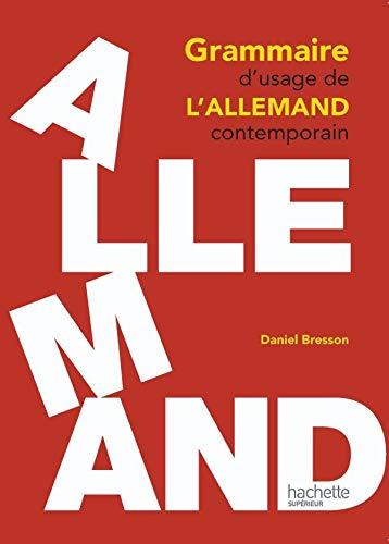 9782011460561: Grammaire d'usage de l'Allemand contemporain