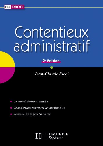9782011460783: Contentieux administratif (French Edition)