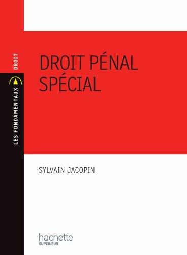 9782011460837: Droit pénal spécial