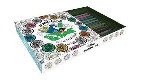 9782011461766: Coffret Art-thérapie Mandalas Disney (Heroes)