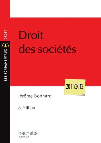 9782011461902: Droit des sociétés