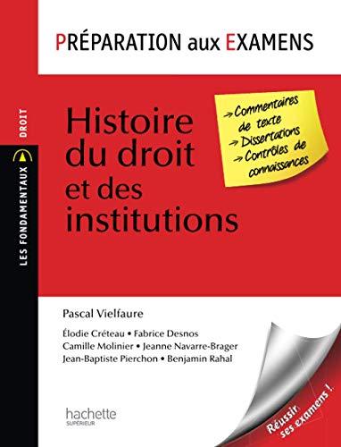 9782011462053: Préparation aux examens, Histoire du droit et des institutions