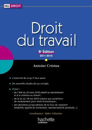 9782011462572: Droit du travail (French Edition)