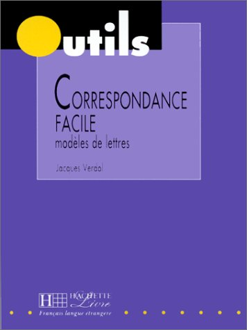 9782011550835: La Correspondance Facile (Outils Series) (French Edition)