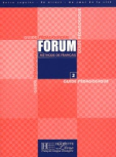 9782011551375: Forum Level 2 Teacher's Guide (English and French Edition)