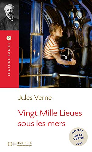 9782011552853: 20,000 Lieues Sous Les Mers Lecture Facile A2/B1 (900-1500 Words) (French Edition)