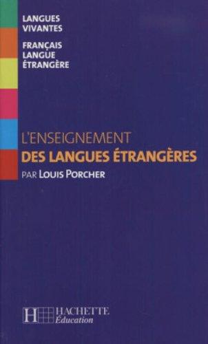 9782011552976: L'Enseignement Des Langues Etrangeres (French Edition)