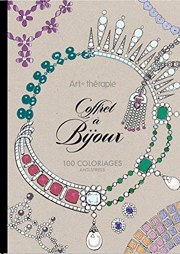 9782011553010: Coffret � Bijoux: 100 coloriages anti-stress