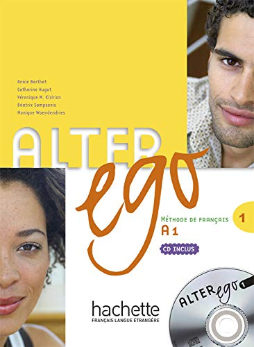9782011554208: Alter Ego Level One Textbook with CD (French Edition)