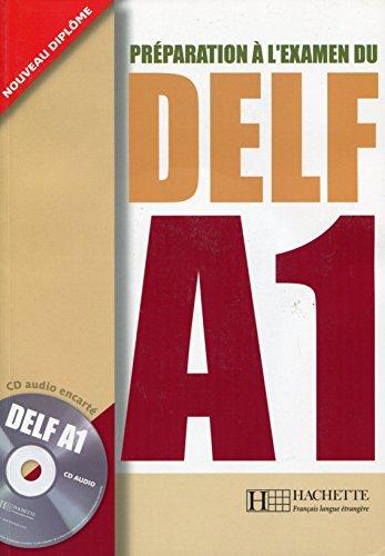 9782011554512: Prparation l'examen du DELF A1 (1CD audio)