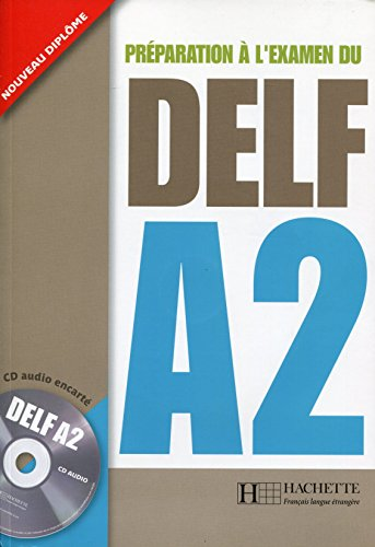 9782011554543: Delf A2 Livre de L'Eleve + CD Audio (French Edition)