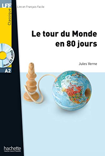 9782011556868: Le tour du monde en 80 jours (1CD audio)