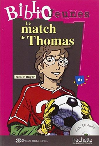 9782011556950: Italie le Match de Thomas+CD Audio