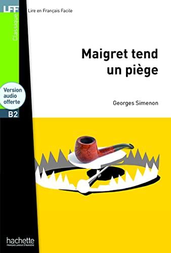 9782011557551: Maigret tend un piège + CD MP3 (B2): Maigret tend un piège + CD MP3 (B2)